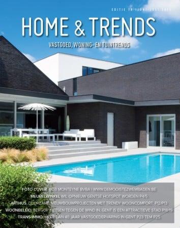 Home & Trends kiest een Bob Monteyne realisatie voor hun cover
